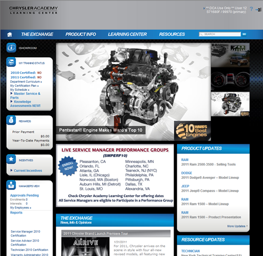 LMS Chrysler Home Page